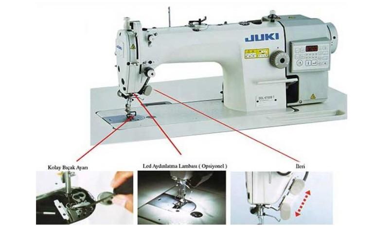 Juki 8700-B7 Elektronik Düz Dikiş Makinası Tanıtım